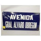 6x16 AVENDIA PORC. SIGN
