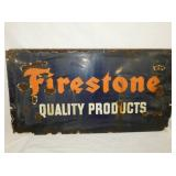 16X32 PORC. FIRESTONE SIGN