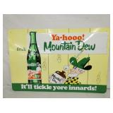 20X30 EMB. MT. DEW SIGN - MODERN