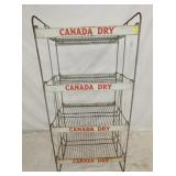 26X53 CANADA DRY DISPLAY RACK