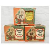 NOS PERFECT PIPE CHRISTMAS SETS