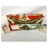 NOS CHESTERFIELD CHRISTMAS W/PRODUCT