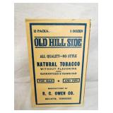 NOS OLD HILL SIDE TOBACCO W/PRODUCT