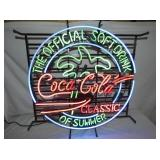 30in. COCA-COLA 3 COLOR NEON