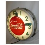 VIEW 2 RIGHT SIDE EARLY COKE CLOCK