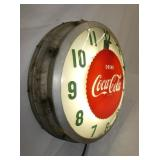 VIEW 3 LEFT SIDE ALL ORG. COKE CLOCK