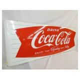 VIEW 2 LEFT SIDE COKE FISHTAIL SIGN