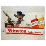 36X59 EMB. WINSTON RODEO SIGN