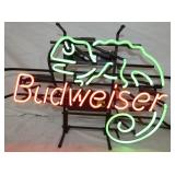 VIEW 2 CLOSE UP BUDWEISER NEON