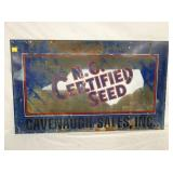 23X40 NC CERTIFIED SEED SIGN