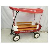 RADIO FLYER WAGON W/ COVERED TOP