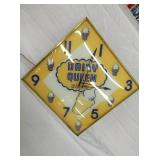 15IN. DAIRY QUEEN CLOCK