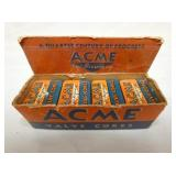 ACME VALVE CORES DISPLAY W/PRODUCT
