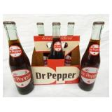 6 PACK DR. PEPPER W/BOTTLES