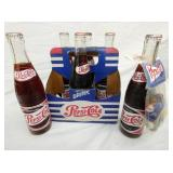 6 PACK PEPSI COLA W/BOTTLES