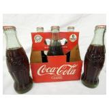 6 PACK COCA COLA W/BOTTLES