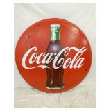 48IN. PORC. COKE BUTTON
