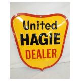22X24 1967 NOS UNITED HAGIE DEALER