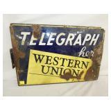 17X25 WESTERN UNION TELEGRAPH FLANGE