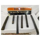 10X30 FIRESTONE BELTS & RADIATORS HOSE