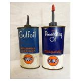 GULFOIL POCKET TINS