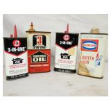 3-IN-ONE/BORON OIL TINS