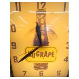 VIEW 2 CLOSE UP NUGRAPE CLOCK