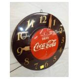 VIEW 2 CLOSE UP COKE CLOCK