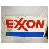 45X85 PORC. EXXON SIGN TOTAL OF (5) SIGNS