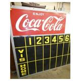 VIEW 3 69 1/2 X 118 COKE SCORE BOARD