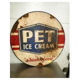 30IN PET ICE CREAM SIGN