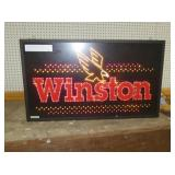 14X24 LIGHTED WINSTON CLOCK