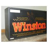 VIEW 3 SIDE VIEW LIGHTED ADV. CLOCK