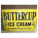 24X36 BUTTERCUP ICE CREAM SIGN