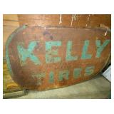 48X72 KELLY TIRES SIGN