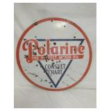 30IN. PORC. POLARINE SIGN