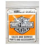 23X26 HARLEY DAVIDSON SIGN