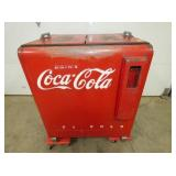 36IN.EMB. COKE COOLER WORKS GREAT