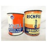 1LB. ROYAL & RICHFIELD METAL CANS