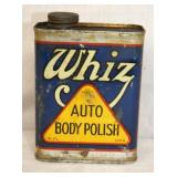 16OZ. WHIZ AUTO BODY POLISH METAL CAN