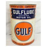 5QT. GULFLUBE METAL CAN