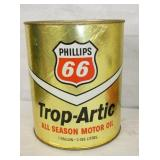 1G. PHILLIPS 66 ARTIC CARDBOARD CAN