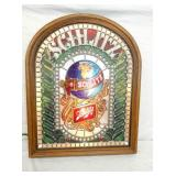 21X27 LIGHTED SCHLITZ EMB. SIGN