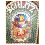 VIEW 2 CLOSE UP EMB. LIGHTED SCHLITZ SIGN
