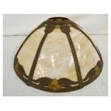 19IN. SLAG GLASS SHADE