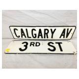 6X24 PORC. STREET SIGNS