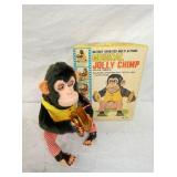 BATTERY OP JOLLY CHIMP W/BOX