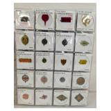 100 PC. COLLECTION HIGH POINT NC TOBACCO TAGS