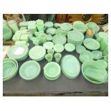 COLLECTION OF JADEITE FIRE KING