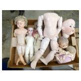 EARLY COMPOSITION & PORC. DOLLS